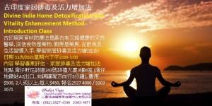 古印度家居排毒及活力增加法Divine India Home Detoxification and Vitality Enhancement Method Introduction Class